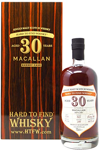 The Macallan - Hard To Find Single Sherry Cask #2864-1989 30 year old Whisky