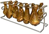 King Kooker #12WR 12-Slot Leg and Wing Grill Rack for Poultry