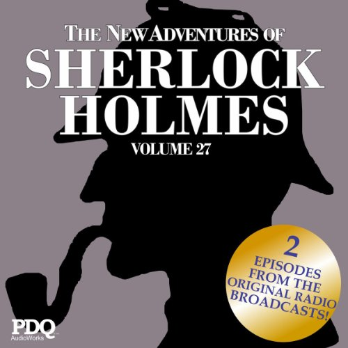 The New Adventures of Sherlock Holmes audiobook cover art
