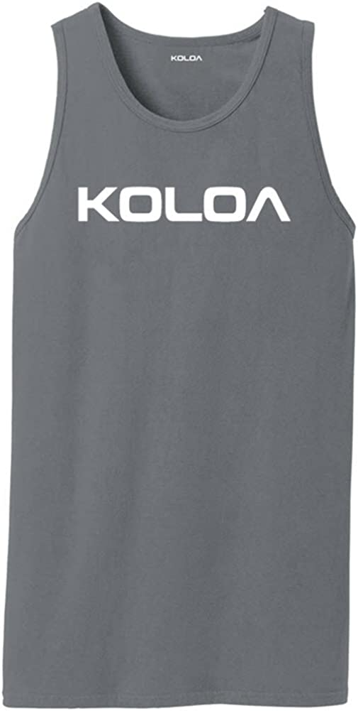 Koloa Original New color Logo Pigment-Dyed Be super welcome Tank Tops in Sizes S-4XL