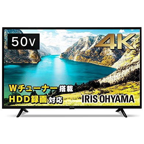 アイリスオーヤマ 50型 4K対応 液晶テレビ 50UB10P 裏番組録画対応