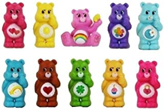 Unbranded 10 Figure Cake Topper Care Bears Playset