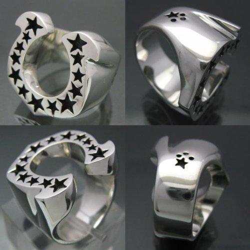 『馬蹄の指輪 ホースシューリング [15号] シルバー925 銀製アクセサリー』の2枚目の画像