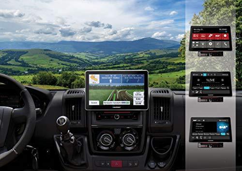 Blaupunkt Rome 990 DAB NAV CAR Doppel-DIN Moniceiver DAB+ Tuner, Bluetooth®-Freisprecheinrichtung,