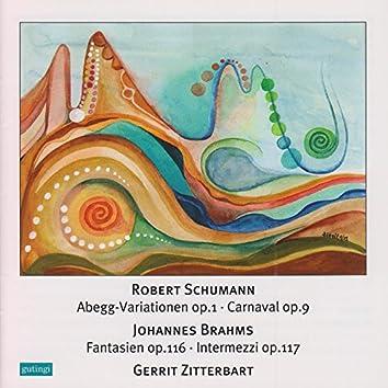 Schumann: Abegg Variations, Carnaval & Brahms: Intermezzi, Fantasien