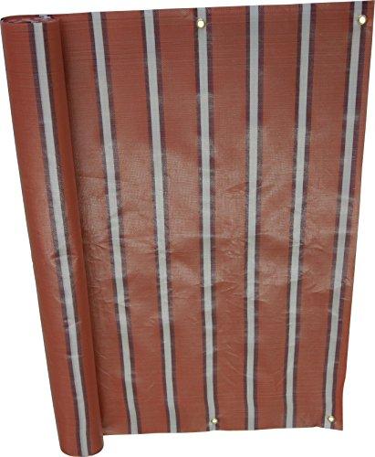 Angerer Brise-Vue Design No. 4900 Rouge, 90 cm, Longueur: 6 mètre