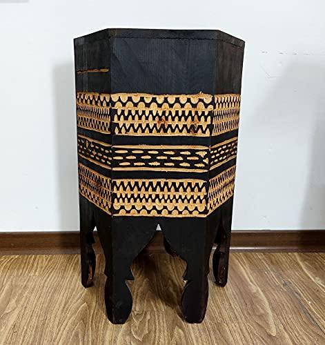 Tavolino Basso Sgabello Etnico Salotto Aperitivo Marocco Marocchino 2105211230
