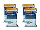 24 Riccar 8000 & Simplicity 7000 Type B Vaccum Bags, Upright, Commercial Vacuum Cleaners, 8000, 7000, 7200, 7250, 7300, 7350, 7700, 7750, 7900, 7950