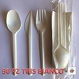 Zoom IMG-1 50 kit posate in plastica