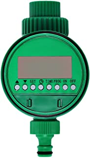 Watering Timer LCD Irrigation Hose Timer Controller Water Programs Watering Equipment for Garden Lawn Yard Hose Timers