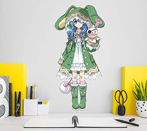 AJ WALLPAPER 3D Date a Live-Yoshino 7 Personaje Juego Papel Tapiz Mural Póster Japonés Animes Pegatina De Pared Papel Tapiz ES Zoe (Lienzo (Durable + Autoadhesivo), M:100cmH(39