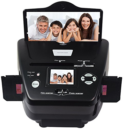 DIGTINOW M122 35mm Film Scanner Photo,Name Card,Slides and Negatives To Digital Converter for Saving Films To Digital Files(10 Megapixels Interpolated)