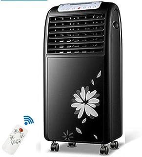 TD Enfriador De Aire, Aire Acondicionado Frío con Ventilador Y Humidificador por Evaporación, Calentador Eléctrico con Mando A Distancia