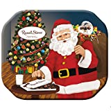 russell stover christmas holiday tin assorted chocolates gift box, 284g