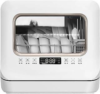 RAPLANC Lavavajillas doméstico Mini Escritorio automática de esterilización de Secado 4 Conjuntos