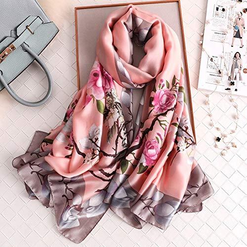 Vcnhln Primavera otoño Bufanda Damas Verano Protector Solar Toalla de Playa Moda Chal Bufanda Gasa Hijab