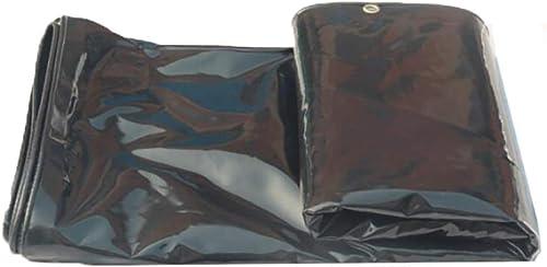 GRPB Bache Noire épaisse résistante imperméable résistante de toiture de Toile de Camping de Pique-Nique de Toit de Voiture de Toile de Prougeection Solaire de Parasol 560g   M2, 0.47mm (Taille   4x5m)