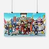 Imprimir en Lienzo Cuadro sobreTorneo Mundial de Artes Marciales Dragon Ball -54x30cmPóster HD Mural Moderno Decoración