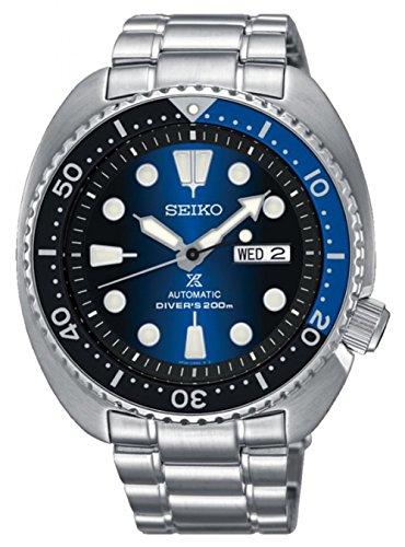Seiko Herren Analog Quarz Uhr mit Edelstahl Armband 8.43124E+12