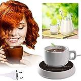 Scalda Bevande,Scalda Tazza di caffè,Riscaldatore del caffè,Scaldacaffè con Due Piastre di Regolazione della Temperatura,Utilizzabili per caffè, Latte, tè, Acqua - Il miglior Regalo di Natale