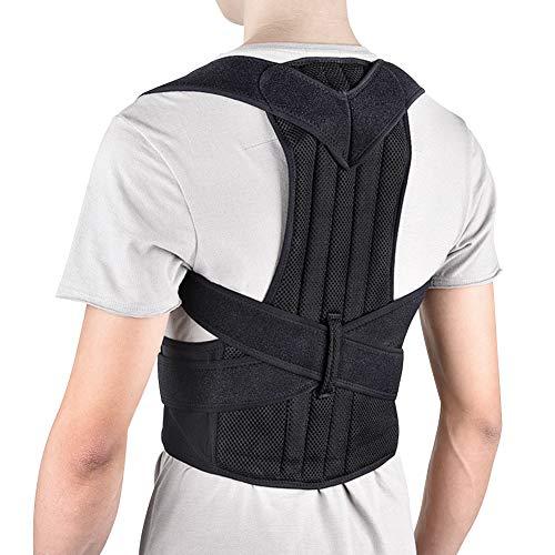 ANTOPM Haltungskorrektur,Rückenkorrektur Haltungstrainer für Eine Aufrechteren Haltung, Rücken Verstellbare Rückenstütze für Damen Herren