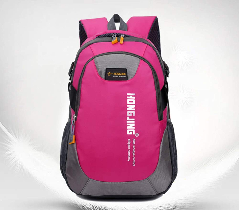DSHWB Mountaineering Rucksack for Travel Bag Male Large Capacity Backpack Shoulder Bag Female Travel Leisure Outdoor Mountaineering Bag Light Computer Bag Korean