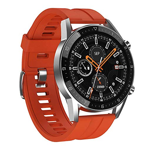 Reloj deportivo con función de llamada, reloj inteligente deportivo de negocios con pantalla táctil inalámbrica de 1.28 pulgadas, reloj despertador a prueba de agua IP68, cronómetro, contador de pasos
