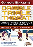 Dribble Triple Threat - Drive, Pass & Shoot on the dribble With Ganon Baker Basketball Training DVD