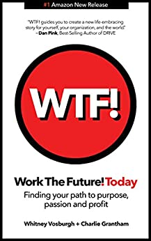 WORK THE FUTURE! TODAY: Finding your path to purpose, passion and profit by [Whitney Vosburgh, Charles E. Grantham]