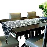 artbisons fatto a mano runner da tavola (240x33cm, geometria runner)