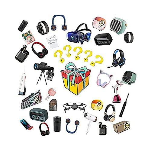 Mystery Box Elettronico,Scatola a Sorpresa,È Possibile Aprire: Gli Ultimi Telefoni Cellulari, Droni, Orologi Intelligenti, ECC, Tutti Gli Articoli Sono Nuovi White
