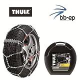 Premium Schneeketten - THULE CS-10 - für die Reifengröße 205/55 R16 Kettenglieder 10 mm - mit Icebreaker System