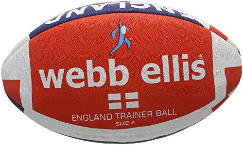 Webb Ellis Herren Ball Englandfahne Mehrfarbig Navy/Red Size 4