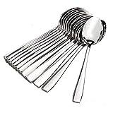 Eversteel Stainless Steel Tea Spoon & Dinner Spoon Combo -Pack of 12
