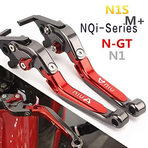 Niu N1S/NGT/NQi-Series/NQiGT Elektroroller, CNC-faltbar einziehbar Bremslenker (Grau)