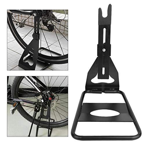 SALUTUYA Soporte de exhibición de Bicicleta Ajustable Fuerte de aleación de Calidad Apto para Diferentes tamaños de Bicicleta para brindar un Soporte Estable para Bicicletas