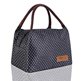 HOMESPON Lunch Bag Cute Cool Bag for Lunch Boxes Waterproof Fabric Foldable Picnic