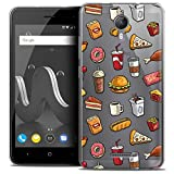 Case for 5 Inch Wiko Jerry 2, Foodie Fast Food