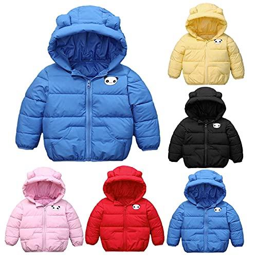 YQSR - Combinación de nieve para bebé, niñas, chaquetas y abrigos, impermeable, peso ligero, con capucha, manga larga, regalo para otoño invierno