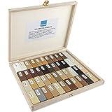BAO Austria - Juego de barras de cera blanda (2-44 piezas, en maletín de madera)