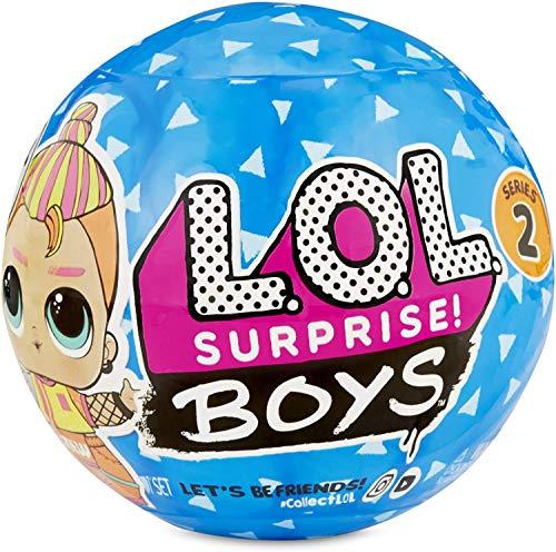 LOL Surprise Boys Serie 2, Muñeco, 7 sorpresas