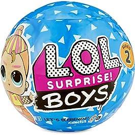 LOL Surprise Boys Série 2 Poupée, 7 Surprises, One Random
