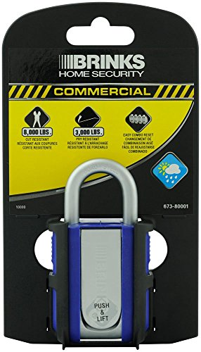 Brinks 673-80001 Commercial Marine Resettable Combination Lock