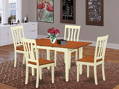 5 PcKitchen dinette set - Dinette Table and 4 Dining Chairs
