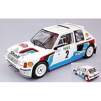Modellino CMR Classic Model Replicars Die Cast Auto Rally per AUDI QUATTRO S1 N.5 WINNER RALLY SANREMO 1985 W.ROHRL-C.GEISTDORFER 1:43