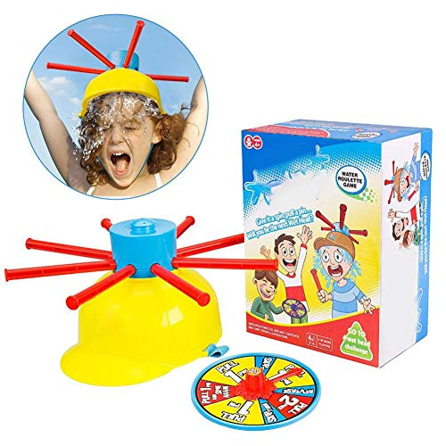 Draulic Wet Head Game Tricky Lustiges Streichspiel Spiel Turntable Wet Water Challenge, Gelb 193ml