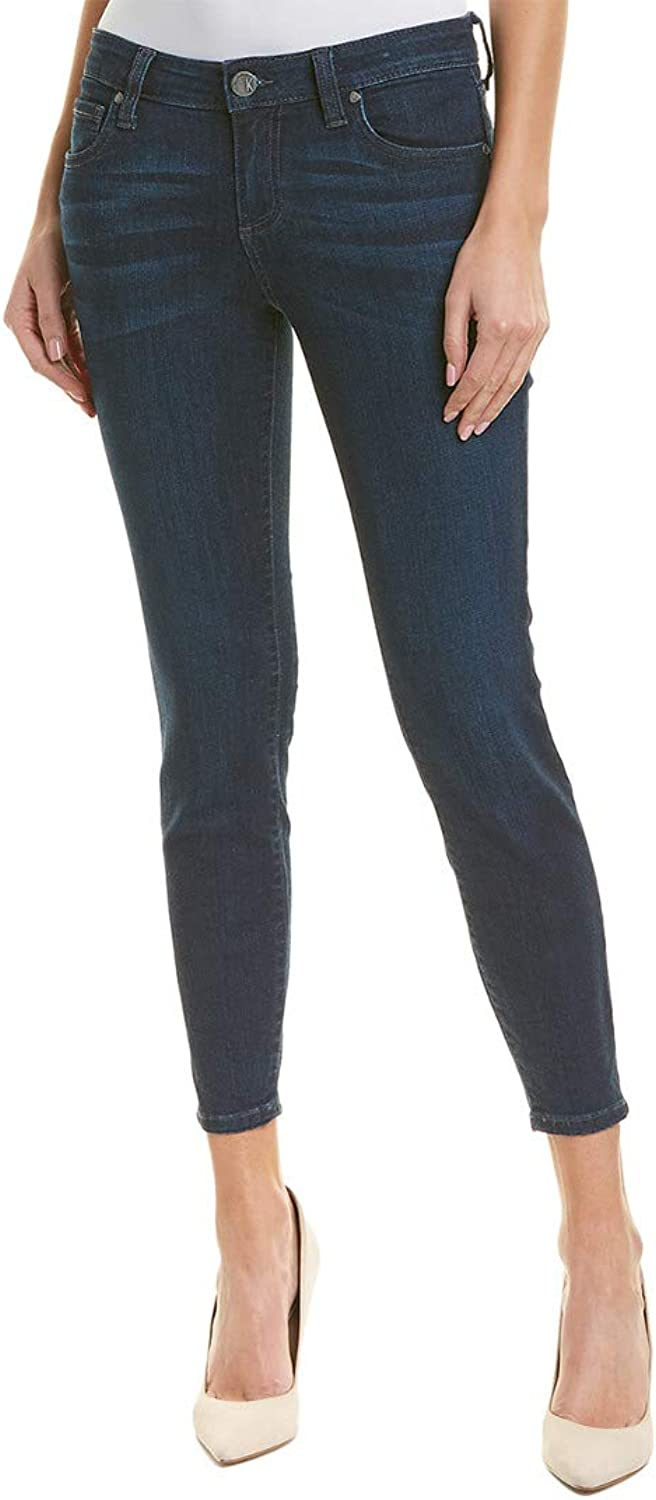 KUT from the Kloth Womens Connie Ankle Skinny Jeans in Influential