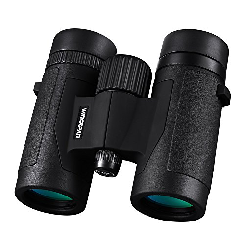 Wingspan Optics FieldView 8X32 Compact Binoculars for Bird...