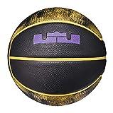 Best Nike Basketball Balls - Nike Lebron Playground Basketball 4P 06 Black/Amarillo Size Review