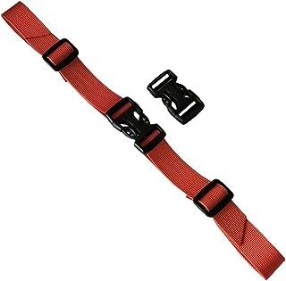 General Backpack Buckle Adjustable Belt Backpack Belt-Orange